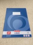 Heft Din A4, liniert, Lineatur 27 / Cuaderno DIN A4, Lineatura 27