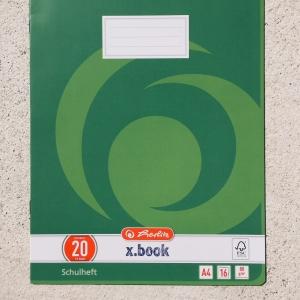 Heft DIN A4, Lineatur 20 / Cuaderno DIN A4, Lineatur 20