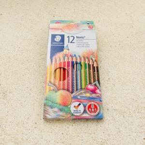 Buntstifte, 12 Farben / Lápices de color, 12 colores
